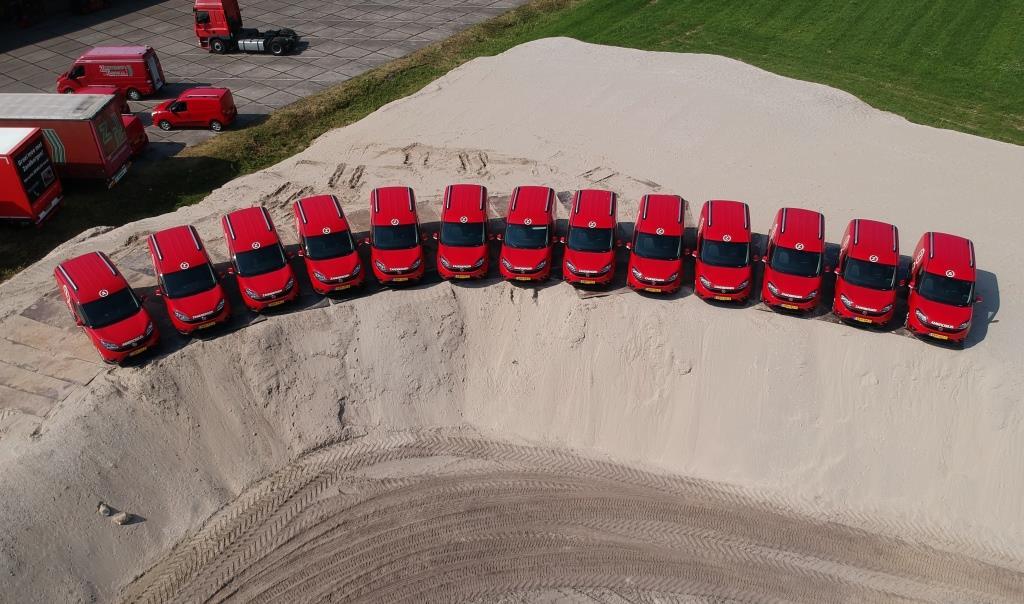 13 nieuwe Fiat Doblo's